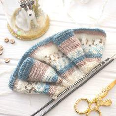 Original doll and animal toy knitting by maryjanestearoom on Etsy