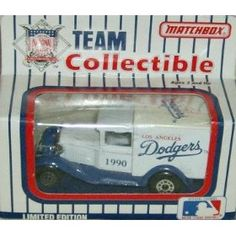 Los Angeles Dodgers 1990 Matchbox/White Rose MLB Diecast Ford Model A Truck by MLB  $17.29 College Football Teams, Mlb Teams, Matchbox Cars, Los Angeles Dodgers, Ford Models, Ford Trucks, White Roses, Vintage Toys, Diecast