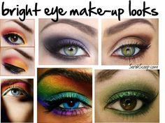 Bright Eye Make-Up Looks #TargetStyle