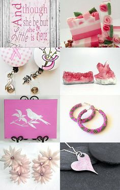 10% Off All Featured Shops ~ Pretty in Pink by Jacquelyn Jones on Etsy--Pinned with TreasuryPin.com