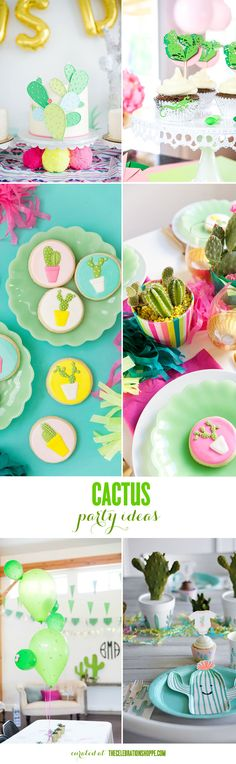 DIY Cactus Party Ideas
