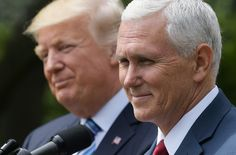 You've got some brown stuff hanging on your nose there, Mikey. ~ Mike Pence Cements His Trump Bromance With Gushing Love Letter | HuffPost