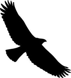 Soaring Eagle Bird Silhouette Decal Vinyl Sticker Car Van Laptop ... - ClipArt Best - ClipArt Best