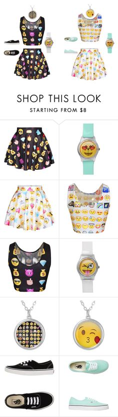 """""""Bff Outfits"""" by ashanasturdivant ❤ liked on Polyvore featuring Vans"""