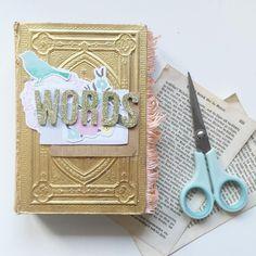 @CayleeGrey | Season of Words | Get Messy Art Journal