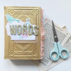 @CayleeGrey | Season of Words | Get Messy Art Journal