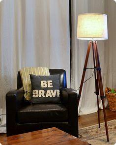 DIY Tripod Lamp