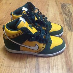 more photos 1400c da274 Nike Shoes   Limited Edition Crayola Nike Dunk High   Color  Green Yellow    Size  3b