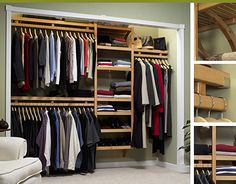 For some, especially in our cramped apartments here in NYC, it's all about the closet space!