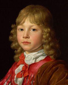 Wallerant Vaillant (1623–1677) Portrait of a Boy with a Falcon, [detail], circa 1650-1674,