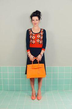 """Knielange Kleider - Kleid Almost Famous""""LOTTE"""" petrol grün pool Damen  - ein Designerstück von Bonnie-and-Buttermilk bei DaWanda"""