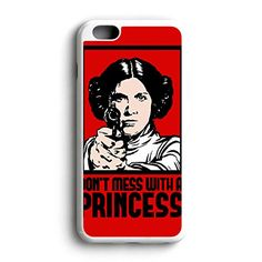 Star Wars Dont Mess With A Princess Am Fit For iPhone 6 Hardplastic Back Protector Framed White FR23 http://www.amazon.com/dp/B016ZQBP5G/ref=cm_sw_r_pi_dp_hXyowb0XPXF97