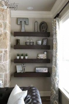 DIY-Floating-Shelves by michelle.popee