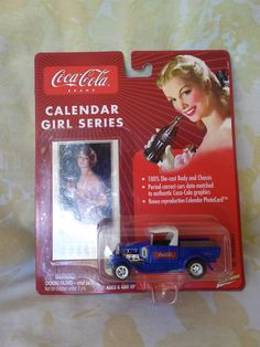 '29 FORD MODEL A - BEAUTIFUL COCA COLA CALENDAR GIRL SERIES - 1:64 #CocaCola #Ford