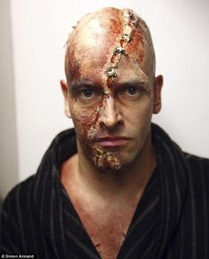 The other Creature: Benedict shares the role ofVictor Frankenstein and the Creature with Jonny Lee Miller (pictured)