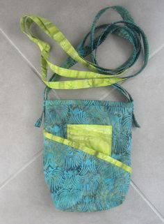 Micah's purse. A pattern by Atkinson Designs - Tag Along Tote