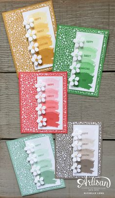 Onstage Display Cards Stampin365