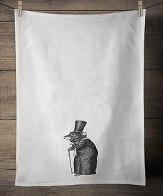 Look at this #zulilyfind! Scrooge Mouse Dish Towel #zulilyfinds