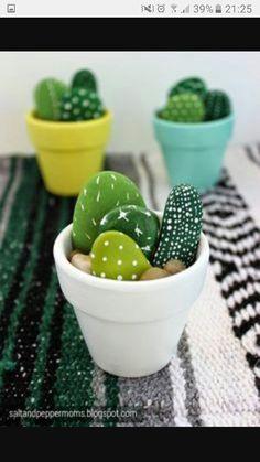Stone cacti