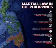 Martial law in the Mindanao region was first implemented in May after hundreds of Islamic State affiliated militants took control of the city of Marawi.