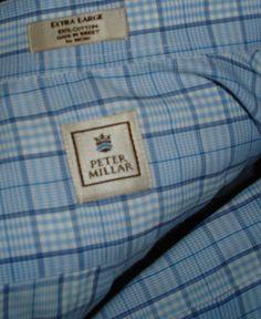 PETER MILLAR Dress Shirt Men's-own this too