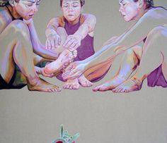"Saatchi Art Artist Cristina Troufa; Painting, ""Heat SOLD"" #art"