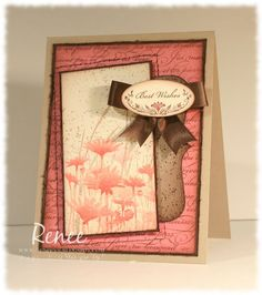 Upsy Daisy from Stampin' Up. The cutest card I've seen with this set