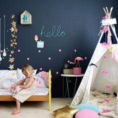 Touch of vintage boho for kids