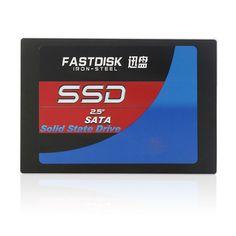 "FASTDISK 2.5"" SATA 64GB 32GB 16GB 8GB 256GB SSD 2.5inch HDD internal Solid State disk SSD For Desktop&Laptop computer pc"