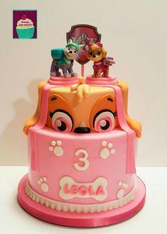 Paw Patrol Cake Skye Paw Patrol Birthday Cake