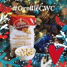 Caramel & White Cheddar by Orville Redenbacher. So delish! #orvilleCWC