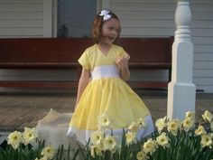 Flower Girl Dress $55