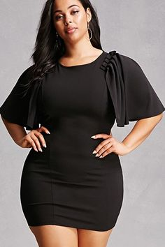 High Quality Celebrity Black Off The Shoulder Short Sleeve Weaving Hollow Out Rayon Bandage Dress Sexy Party Dress Plus Size Fashion For Women, Black Women Fashion, Curvy Fashion, Womens Fashion, Plus Size Black Dresses, Plus Size Outfits, Cheap Dresses, Sexy Dresses, Tie Up Dress