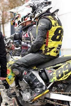 Mx Boots, Motocross Gear, Bike Leathers, Motorcycle Suit, Cafe Racing, Biker Gear, Biker Style, Sport Bikes, Bikers
