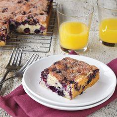 Maine Blueberry Cake | CookingLight.com