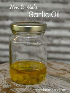 How to make garlic o