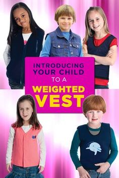 Introducing your child to a Weighted Vest | Autism | Special Needs | Sensory Processing Disorder (SPD)