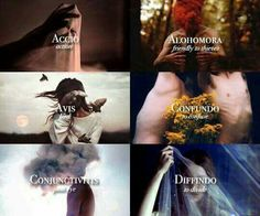 Different spells and what they do
