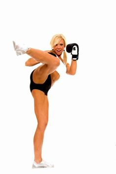 kickboxing is the best workout. Have lost 15 so far :) I will look like this one day!!!