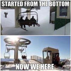 Skiing Memes, Skiing Quotes, Snowboarding Quotes, Winter Hiking, Winter Fun, Ski Et Snowboard, Ski Ski, Ski Bunnies, Summer Vacation Spots