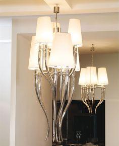 Italian Designer Elegant Contemporary Chandelier, So Beautiful, Sharing Hollywood Luxury Lifestyle Home Decor & Gift Ideas Courtesy Of InStyle-Decor.com Beverly Hills     Enjoy & Happy Pinning