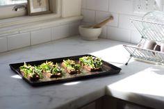 Avocado Asparagus Tartine Recipe