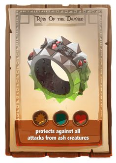 card game development art by Ido Yehimovitz, via Behance