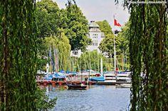 Alster Hamburg: Bootsverleih bei Bobby Reich