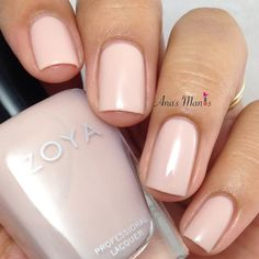 Zoya nail polish whispers april swatch