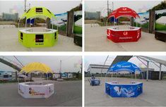 Heat Transfer Full Color Print Dome Advertising Promotion Exhibition Tents