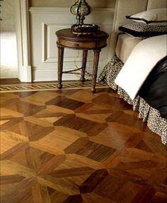 hardwood parquet floor
