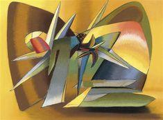 The Desert, 1938 by John Ferren. Abstract Art. abstract