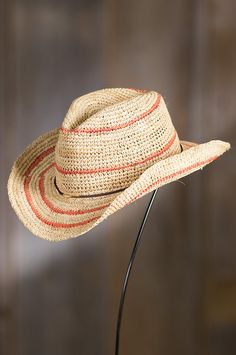 Jesup Crocheted Shapeable Raffia Hat | Overland Sheepskin