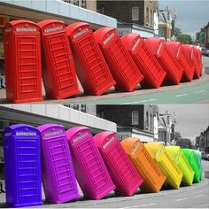 Urban Art: Recycling Britain's iconic Red Telephone Boxes   Urban Ghosts